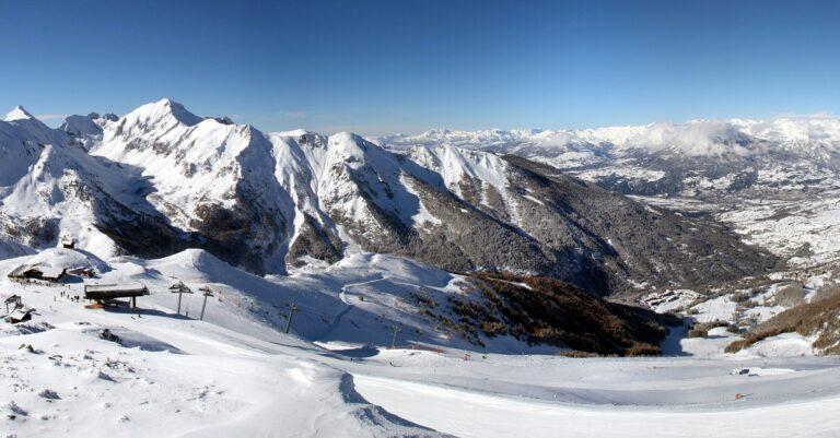 Hautes-Alpes : neige à toutes les altitudes