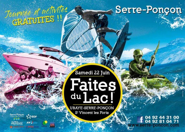 Serre-Ponçon : «Faites du Lac», 7ème édition