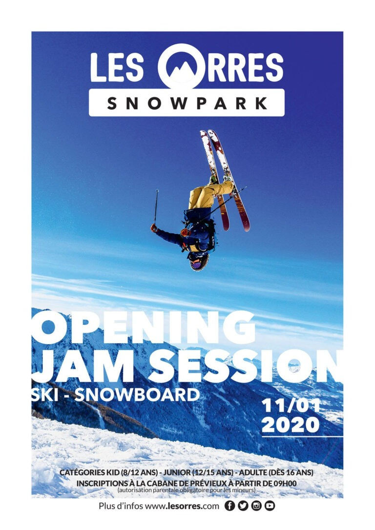 Les Orres ❄ SNOWPARK OPENING JAM SESSION