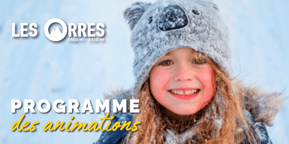 animations les orres hiver 2021