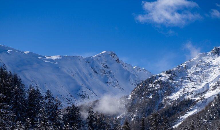 Vue sur la Costa Rouenda et le Vallon de Muretier - Les Orres - Hautes Alpes